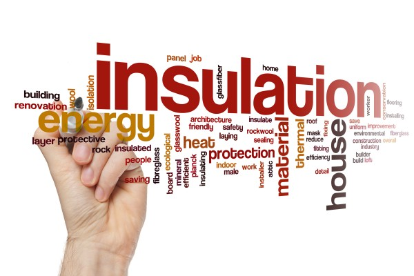 Insulation word cloud